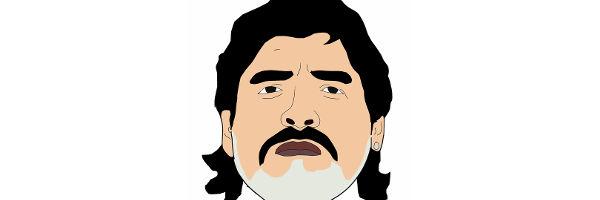 La pegaste, Maradona. Cómo la pegaste